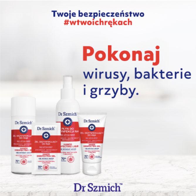 Preparaty dezynfekujące Dr Szmich